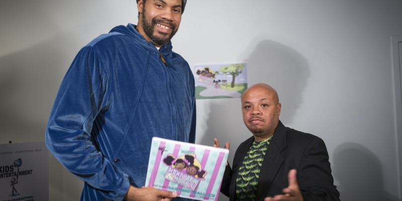 Rasheed Wallace and Saddler Ward